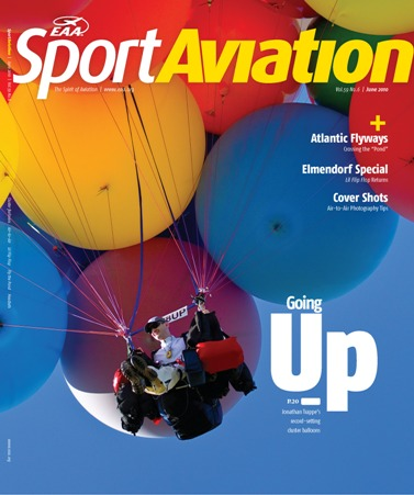 The Spirit Cluster: Sport Aviation Magazine, June 2010