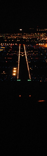 Lined up to Land on ABQ Runways!