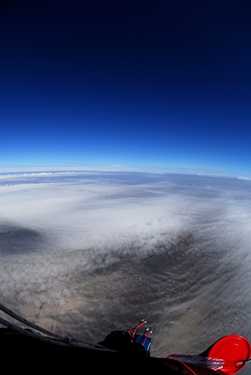 High Above Cloud Layer