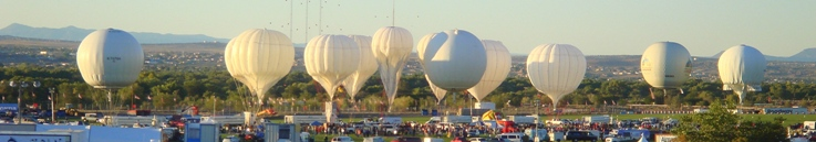 Gas Balloon Inflation Panoramic