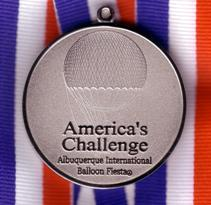 America's Challenge 2008: Medal