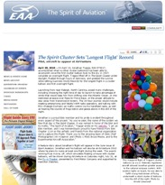 EAA e-Hotline News - The Spirit of Aviation