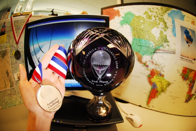 Americas Challenge 2008: Trophy and Medal